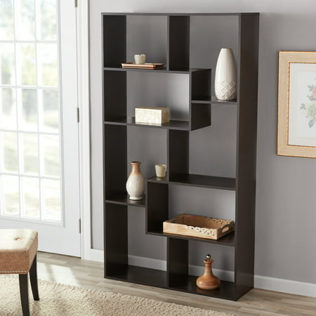 Mainstays 8-Cube Bookcase, White or (Captains Bookcase)
