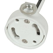 Cfl Pendant Socket Set (Satco Side Mount GU24 CFL Electronic Socket)