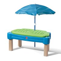 Step2 Cascading Cove Sand And Water Table With Cover