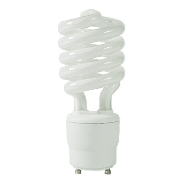 - GU24 Base GCP 079 Compact Fluorescent 60 W Equal 4100K Cool White 13 Watt CFL Light Bulb