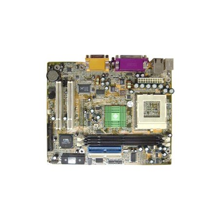 SoyoSY-7VLF-BSocket 370 Flex ATX motherboard supports up to PIII 1.0 GHz CPU. Via VT8604 chipset. 2xDIMM slots. 2xPCI slots. On-Board audio, video and LAN. A good substitute for the Asus CUSI-FX.