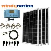 WindyNation 400 Watt Off-Grid Solar Panel Kit with P30L