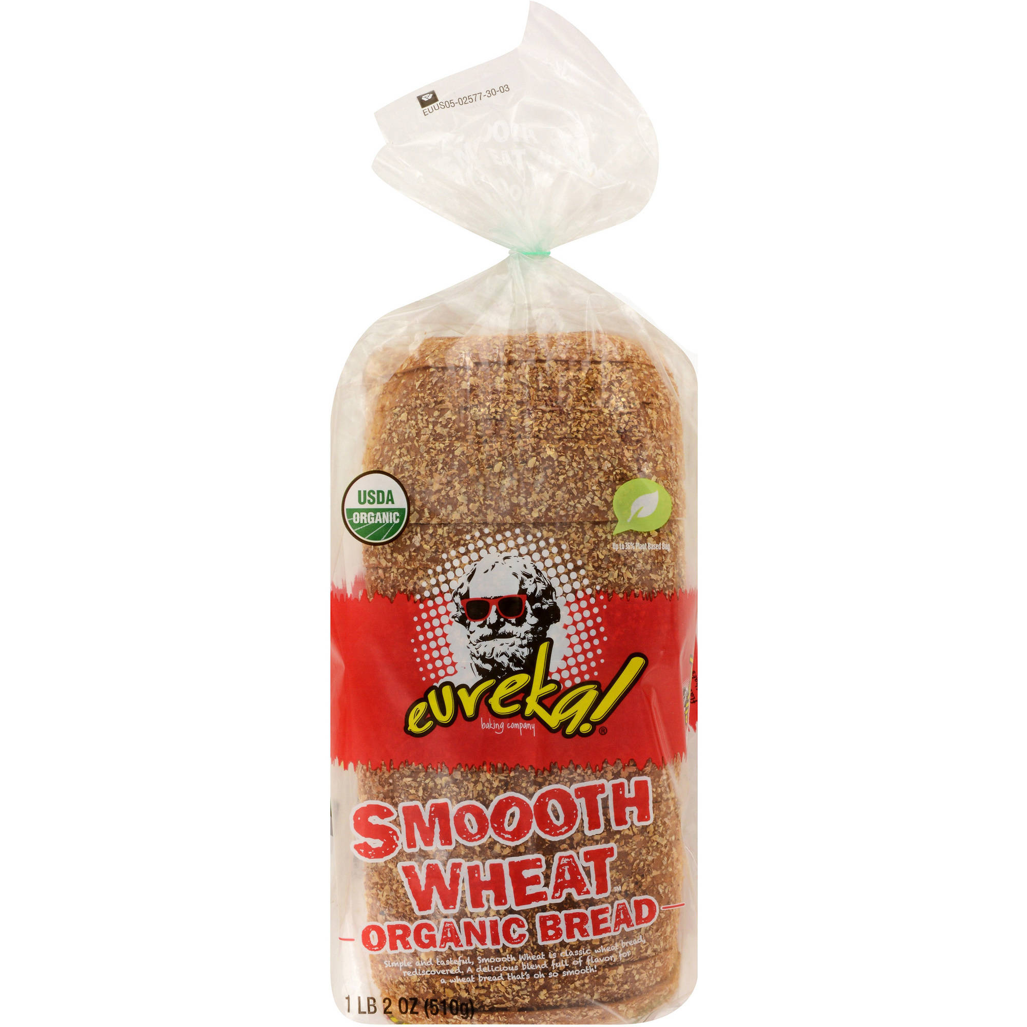 eureka! Smooth Wheat Bread, 18 oz