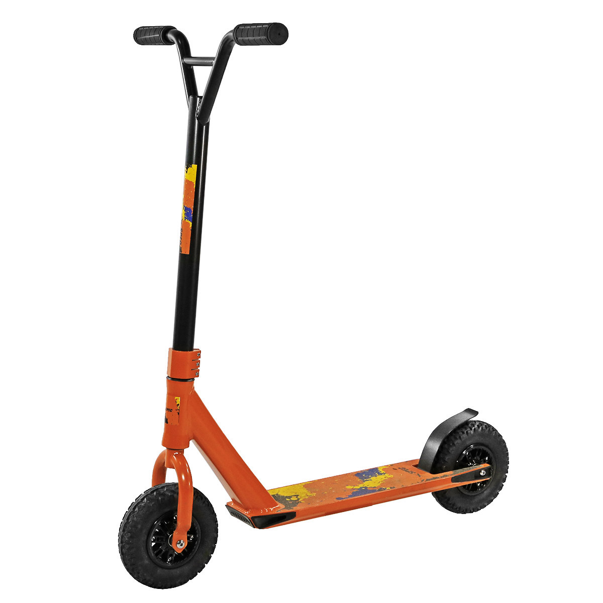 Xspec Pro Dirt Kick Scooter Off road Tires All Terrain Mountain Orange by Xspec