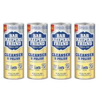 (4 Pack) Bar Keepers Friend Cleanser Powder, 21 oz