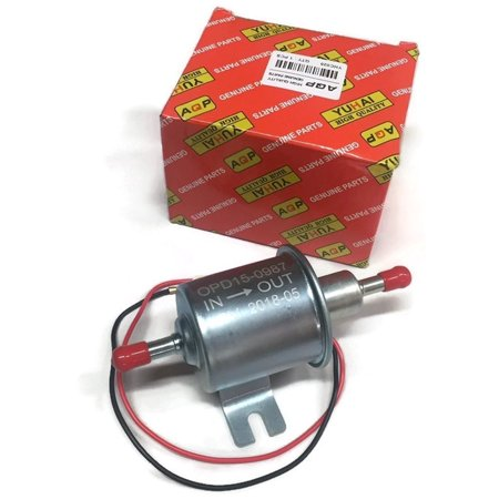 Inline universal fuel pump use on Kohler Kubota Kawasaki Grasshopper Gravely and more (Used Water Pump)
