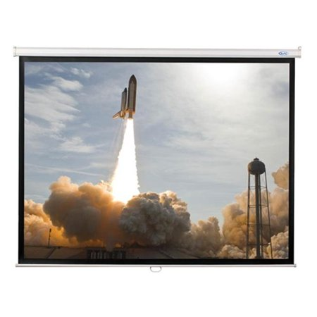 96x96  - Matte White Fabric - Square Format Projector Screen