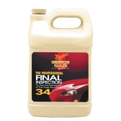Professional Detailers (Meguiar's M34 Mirror Glaze Final Inspection – Professional Spray Detailer for Final Touch – M3401, 1 gal )