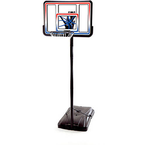 "Lifetime 44"" Acrylic Fusion Backboard Portable Basketball System, Model 1533"