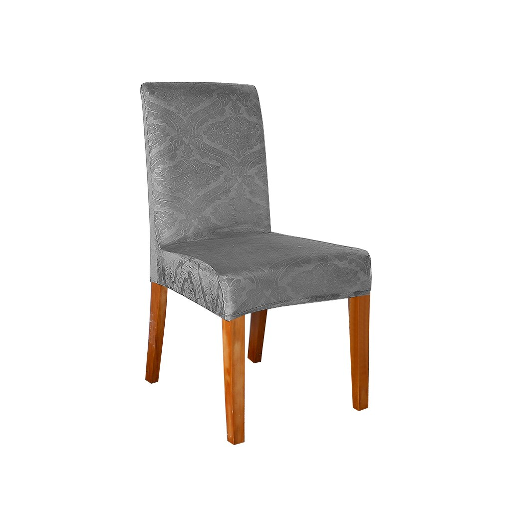 10Pcs Boho Stretch Dining Chair Cover Wedding Banquet Seat Cover Party Decor