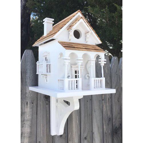 Home Bazaar Signature Series 'Honeymoon Cottage' 11 in x 8 in x 9.5 in Birdhouse by Overstock