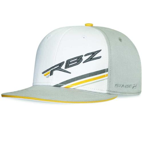 Brand NEW TaylorMade Golf RBZ Stage 2 Flat Bill Fitted Hat - Small/Medium Gray