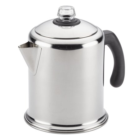 Farberware 12-Cup Classic Stainless Steel Yosemite Coffee Percolator Stainless Coffee Percolator