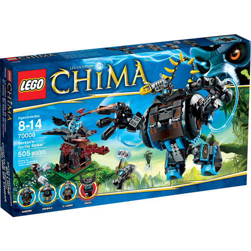 LEGO Chima Gorzan's Gorilla Striker Play Set