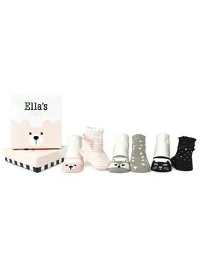 Baby Girls' Ella Socks 6-pack (0-12 mo.)