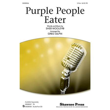 Shawnee Press Purple People Eater 2-Part by Sheb Wooley arranged by Greg - Halloween Songs Flying Purple People Eater