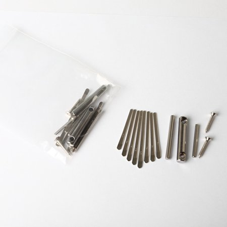 Thumb Piano DIY Kit Kalimba Bridge Saddle 8 Key Set Replacement Spare Parts - image 6 of 8