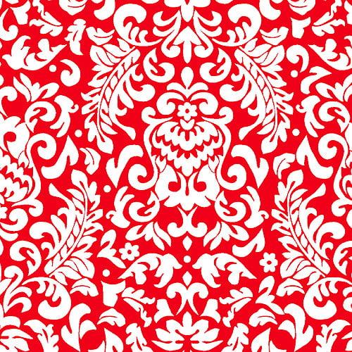 "Creative Cuts Cotton 44"" wide, 2 yard cut fabric, Scroll Print"