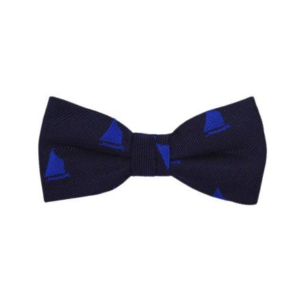 84c56fa4b648 SummerTies - SummerTies Anchor Kids Bow Tie - White on Navy, Woven Silk,  Pre-Tied Kids Bow Tie - Walmart.com