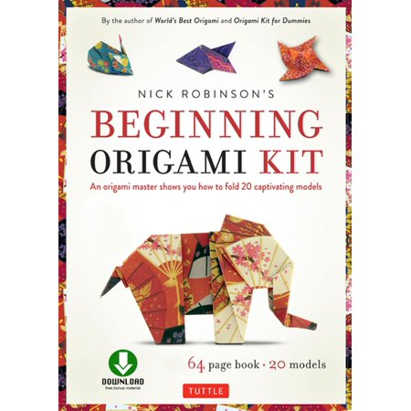 Nick Robinson's Beginning Origami Kit Ebook -