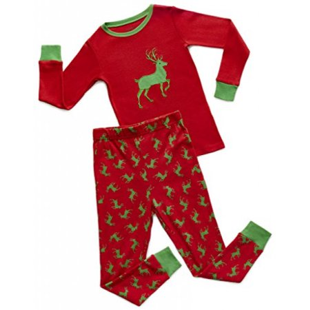 this button opens a dialog that displays additional images for this product with the option to zoom in or out - Christmas Pjs Toddler