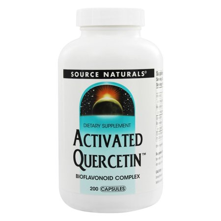 Source Naturals Source Naturals  Activated Quercetin, 200 ea