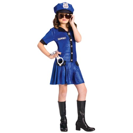 Girl Police Costume (Police Chief GIRL Costume Med)