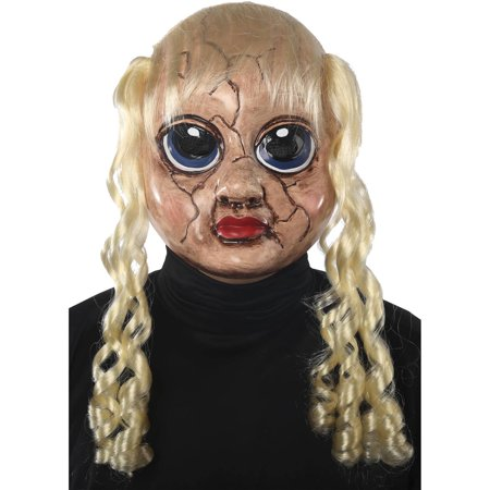 Sad Sandra Mask Adult Halloween Accessory - Sandra Halloween 3