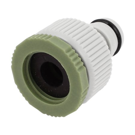 unique bargains gray plastic 10mm female thread garden water gun hose quick fitting connector. Black Bedroom Furniture Sets. Home Design Ideas