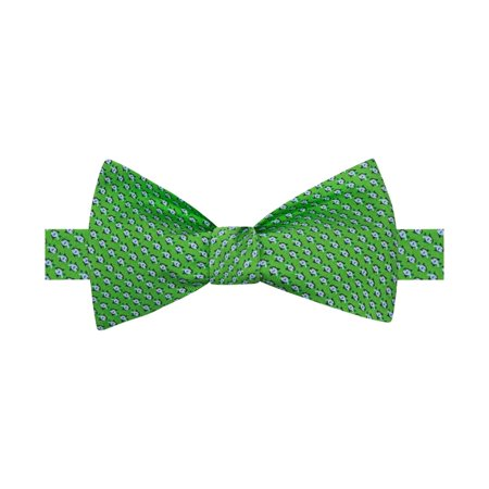 Tommy Hilfiger Mens Fish Self-Tied Bow Tie Reproduction Bow Tie