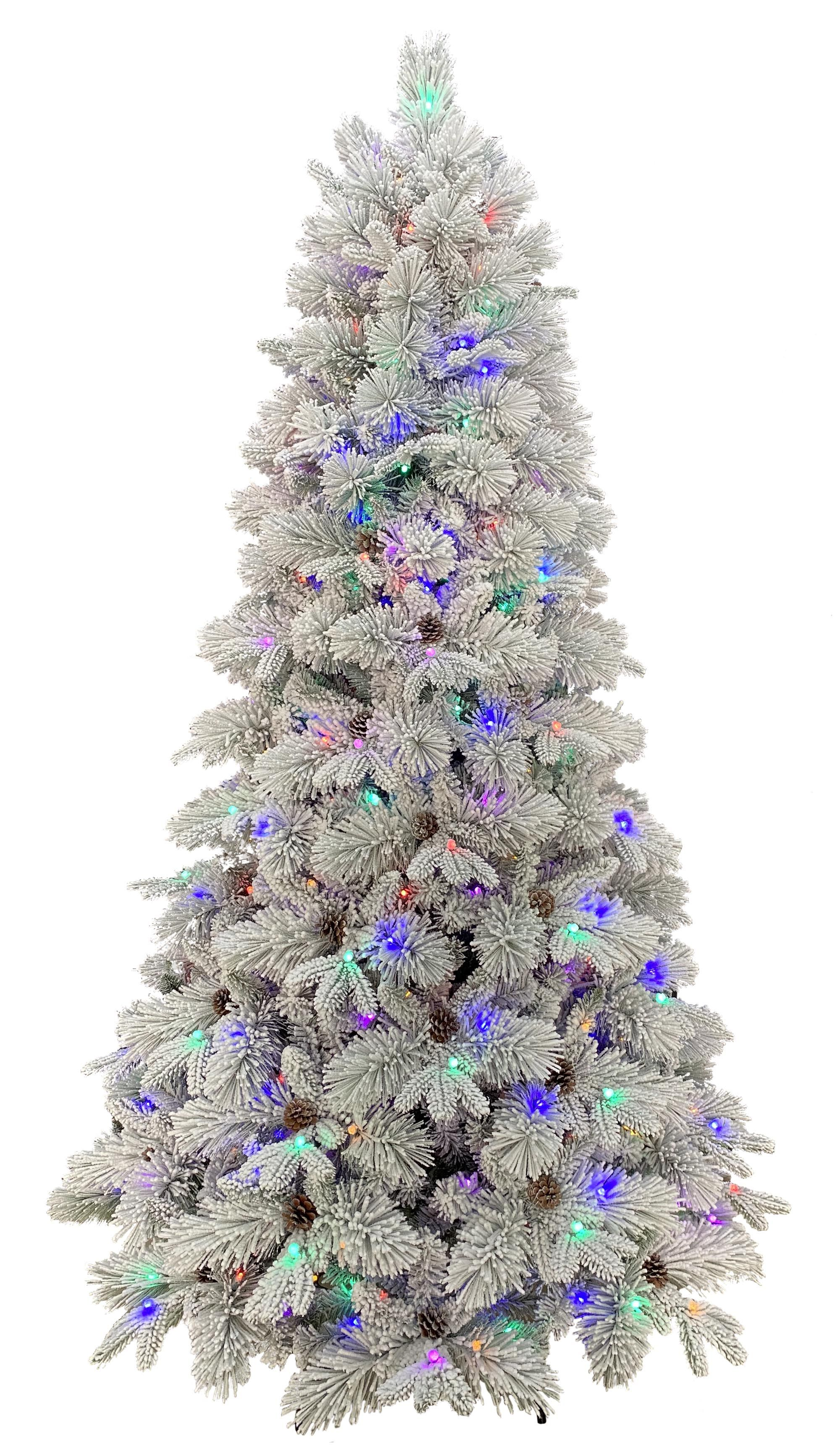 Holiday Time Bellmont Tree With Color Changing Lights 7 5 Walmart Com Walmart Com