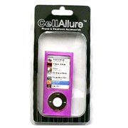 CellAllure Silicone Skin for Apple iPod Nano 5G - Pink with Circular Patterns