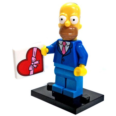 LEGO LEGO Simpsons Series 2 Homer Simpson Minifigure [Sunday (Best Lego Sculptures Ever)