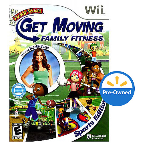 Jumpstart Moving: Family Fitness (Wii) - Pre-Owned
