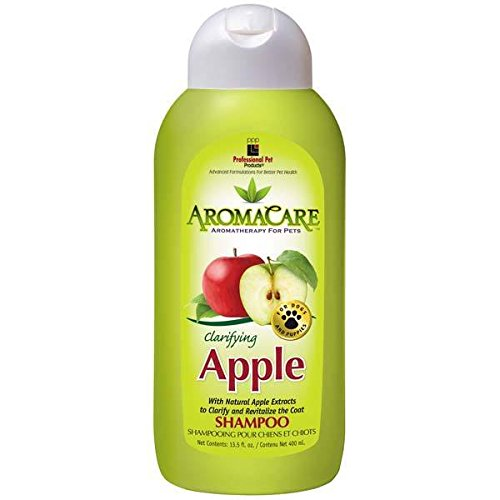 Dog Shampoo Clarifying Green Apple Scented Pet Aromatherapy 13.5 oz Bottle by Unbranded