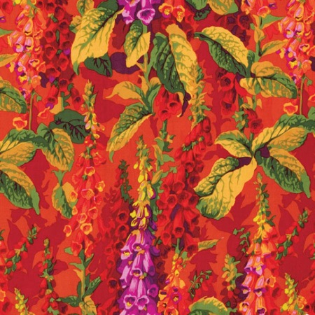 Kaffe Fassett 2012 Philip Jacobs Fox Glove Hot