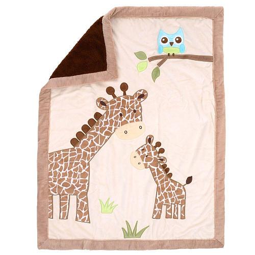Koala Baby Giraffe Jumbo Blanket