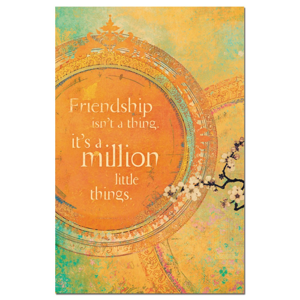 Tree-Free Greetings Million Little Things Econotes Blank Note Cards-FS66669