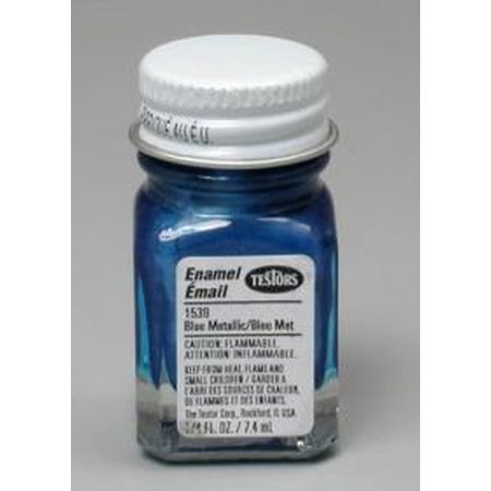Testors Plastic Models (Blue Metal Flake Testors Enamel Plastic Model Paint )