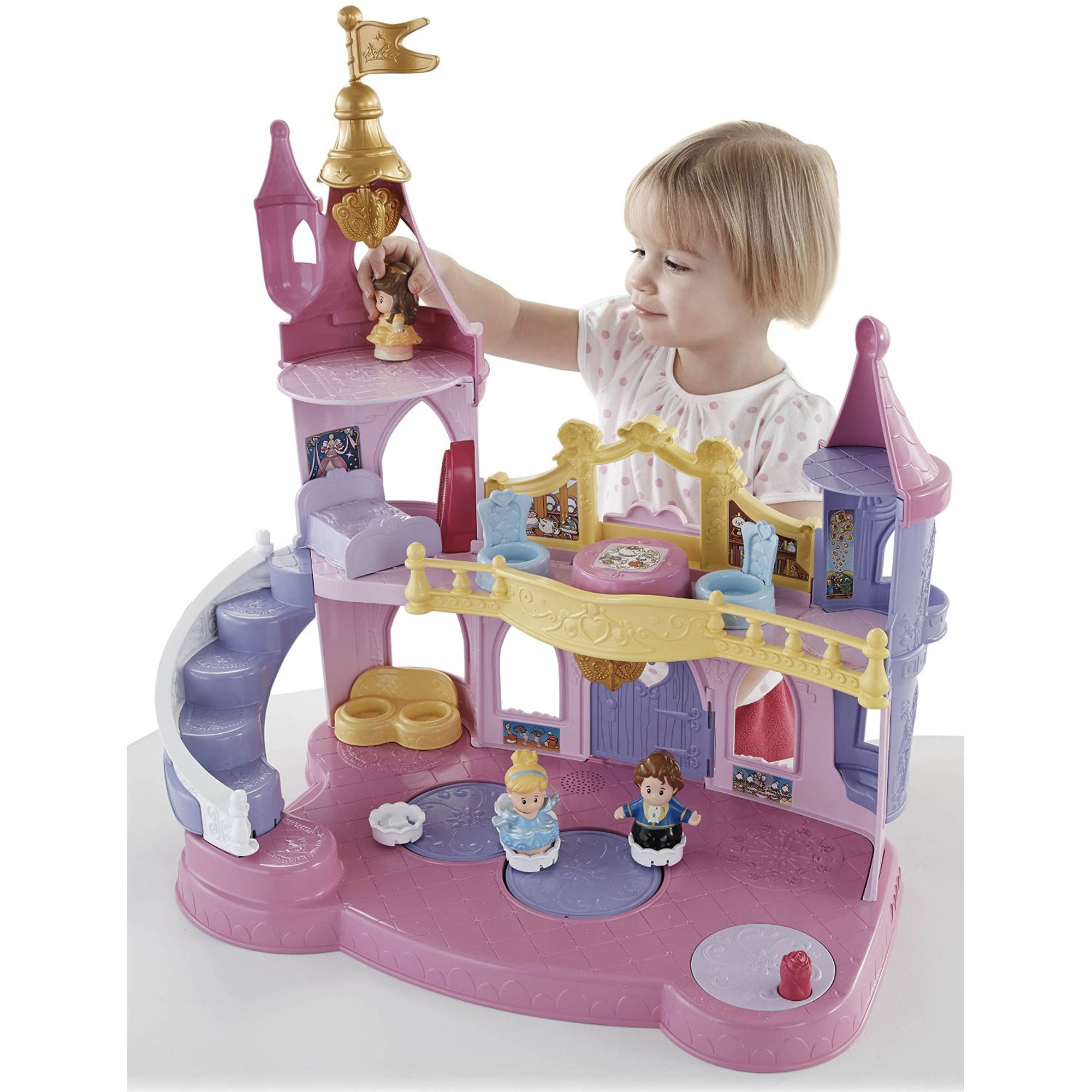 Disney Princess Musical Dancing Palace by Little People