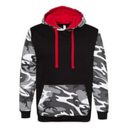 Fashion Camo Hooded Sweatshirt Code Five