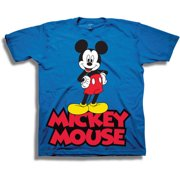 2cc3c85d Disney Mickey Mouse Classic Boys' Juvy Short Sleeve Graphic Tee T-Shirt