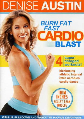 Denise Austin: Burn Fat Fast Cardio Blast (DVD) by Lions Gate Home Entertainment