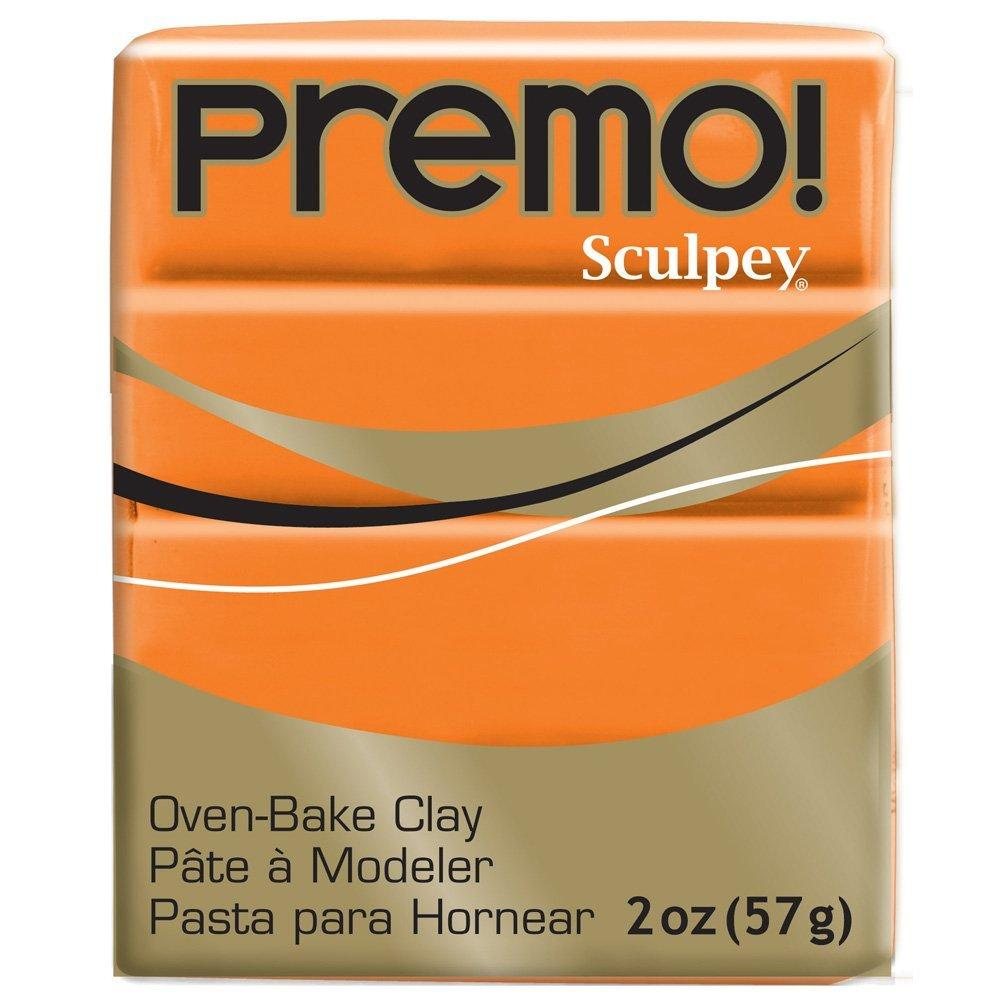 Premo Sculpey Polymer Clay 2 Ounces-Orange