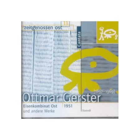 This Disc Provides A Glimpse Into A Vanished Culture  That Of The German Democratic Republic In The Late 1940S And Early 1950S  When Idealism And Optimism Still Ran High  Ottmar Gerster Was A Close Contemporary Of Paul Hindemith  And With His Frankfurt Conservatory Classmate Shared An Interest In The Utility Of Music As It Related To The Workers Movement  Unlike Hindemith  However  He Became A Serious Socialist  Placing Himself In Jeopardy By  Remaining In Germany During The Third Reich  But Holding Him In Good Stead When  After The War  East Germany Became A Socialist Republic The Cantata Eisenkombinat Ost Is More Or Less A Hymn To Hard Work  Cheering On A Building Project Along The Polish Border  The A Major Piano Concerto  A Somewhat Livelier Affair  Does Recall Hindemith In Its Motoric Drive  While The Festouverture Celebrating The Revolutionary Events Of 1848 Quotes The Internationale And The Marseillaise Along With Other Songs Of The People As Part Of Its Stolid Celebration  Recording Quality Is Mixed  Good In The Concerto  Boxy And Dull In The Cantata  But One Will Not Hear These Pieces Anywhere Else