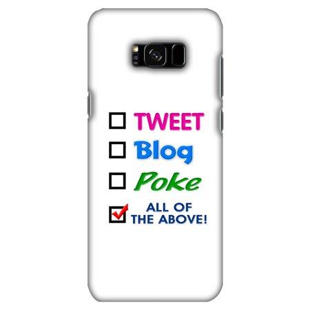 Samsung Galaxy S8 Plus Designer Case  Premium Handcrafted Printed Designer Hard Shockproof Case Back Cover For Samsung Galaxy S8 Plus G955   Tweet