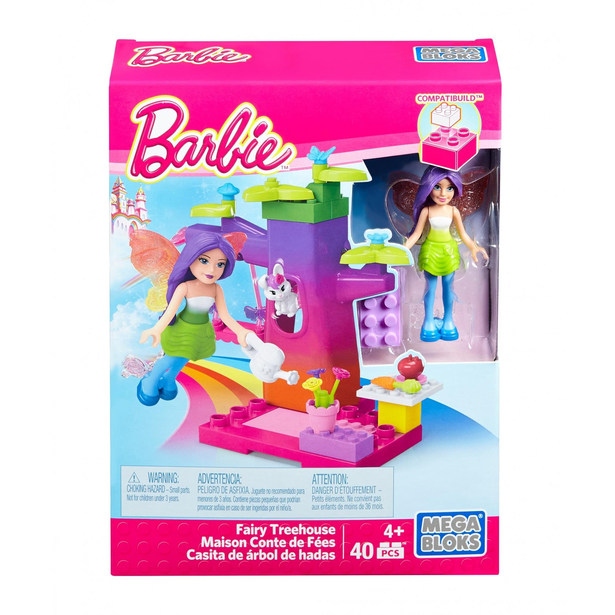 Mega Bloks Barbie Fairy Treehouse by MATTEL INC.