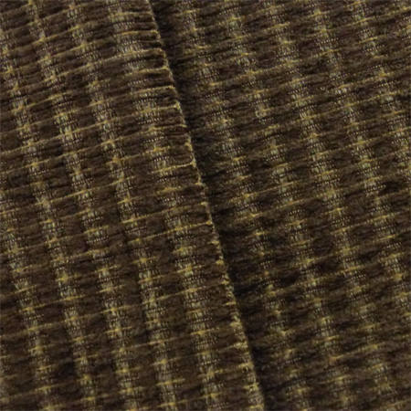 Walnut Brown Valdese Redeem Chenille Upholstery Fabric, Fabric By the -