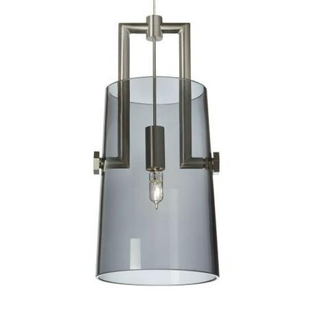 Tech Lighting 700MPRVRT Revere 1 Light Monopoint Pendant with Hand-Blown Glass - Blue Glass Monopoint Pendant