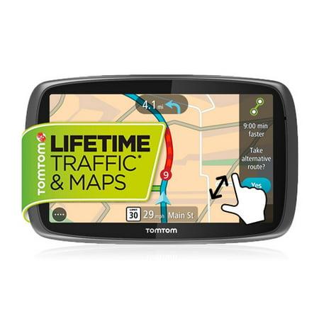 TomTom GO 600 6-inch Automotive GPS w/ Lifetime Map & Traffic Updates